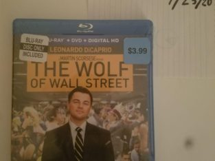 The Wolf of Wall Street Blu-Ray (Original Package)