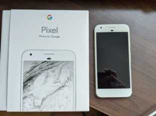 Google Pixel 1 Very Silver 5 inch screen 128GB