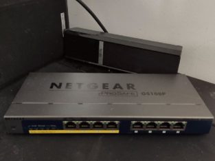 Switch 8 port (4 POE) NETGEAR prosafe GS108P